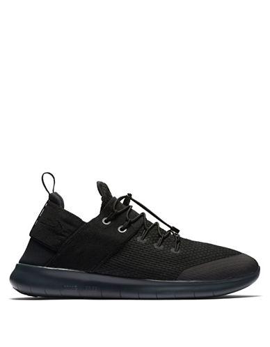 Nike Mens Free RN Commuter Running Sneakers-BLACK-12 90046262_BLACK_12