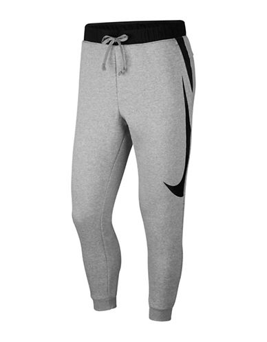 Nike Hybrid Fleece Sweatpants-GREY-XXX-Large