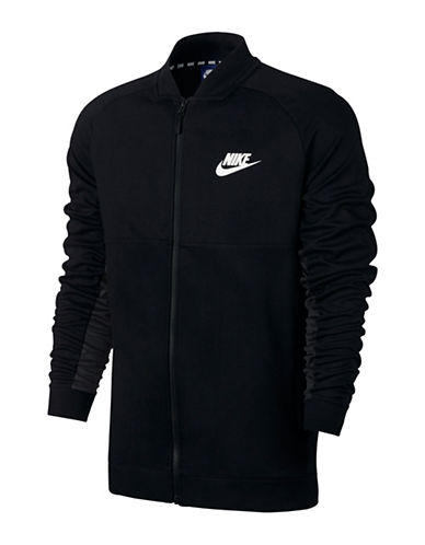 Nike Heathered Advance 15 Jacket-BLACK-Medium