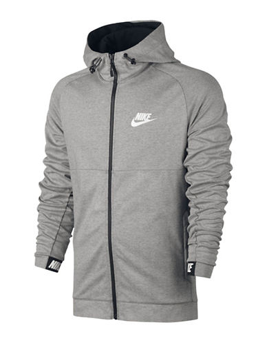 Nike Sportswear Advance Hoodie-GREY-Medium