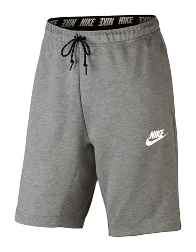Nike Advance 15 Shorts-GREY-X-Large