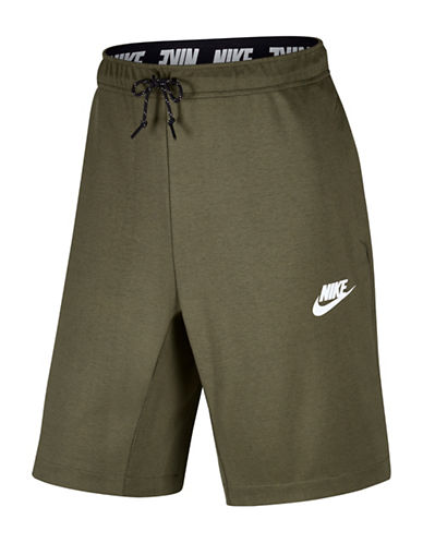Nike Advance 15 Shorts-OLIVE-Medium