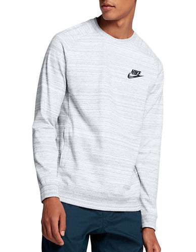 Nike Technical Advance 15 Crew Neck Sweatshirt-WHITE-Medium 89413526_WHITE_Medium