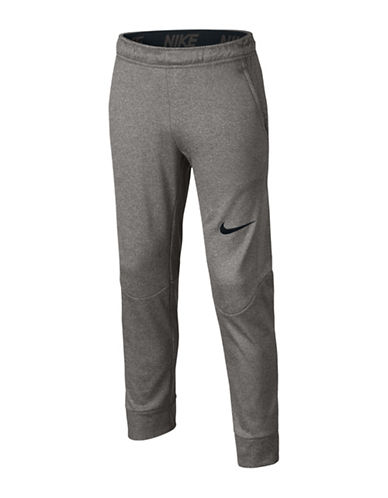 Nike Therma Training Pants-GREY-Large