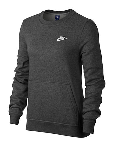Nike Sportswear Crew Sweater-GREY-Small 89687163_GREY_Small