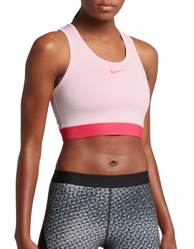 Nike Pro Hypercool Sports Bra-PRISM PINK-Medium