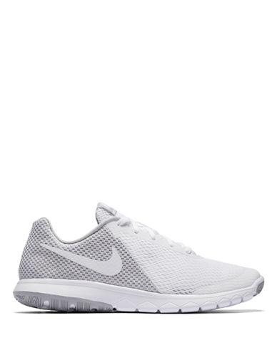 Nike Womens Natural Motion Mesh Running Sneakers-WHITE-5.5