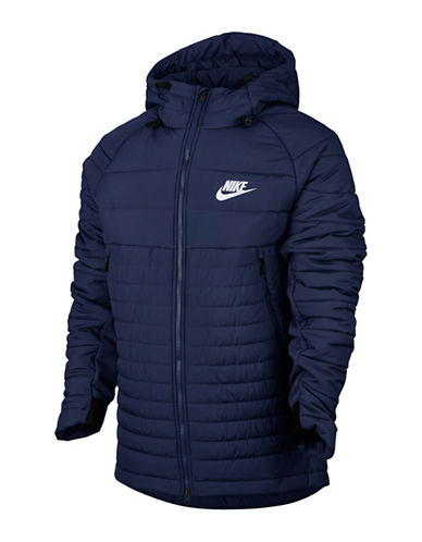 Nike Sportswear Advance 15 Jacket-BLUE-Large