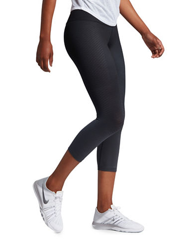Nike Zonal Strength Training Capris-BLACK-Medium 89067724_BLACK_Medium