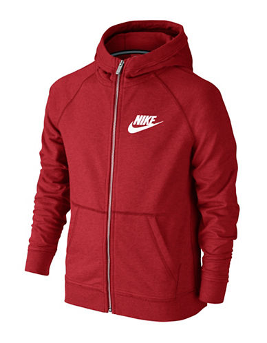 Nike Ultra Wash Hoodie-RED-X-Large 89089770_RED_X-Large