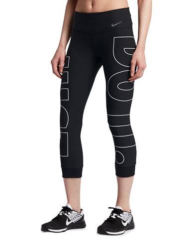 Nike Power Legend Training Cropped Leggings-BLACK-Medium 89203166_BLACK_Medium