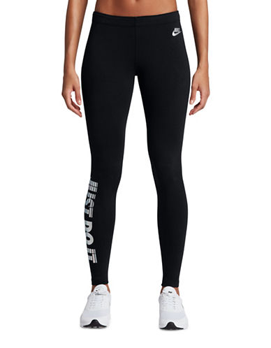 Nike Just Do It Jersey Leggings-BLACK-Small 89203115_BLACK_Small