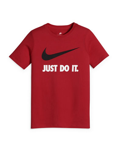 Nike Organic Cotton Swoosh Tee-RED-X-Small 89089706_RED_X-Small