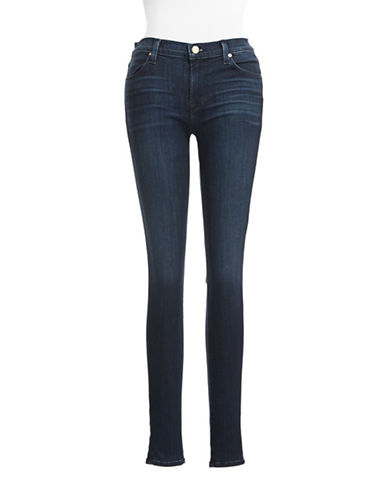 J Brand Mid Rise Super Skinny Jeans-BLUE-30