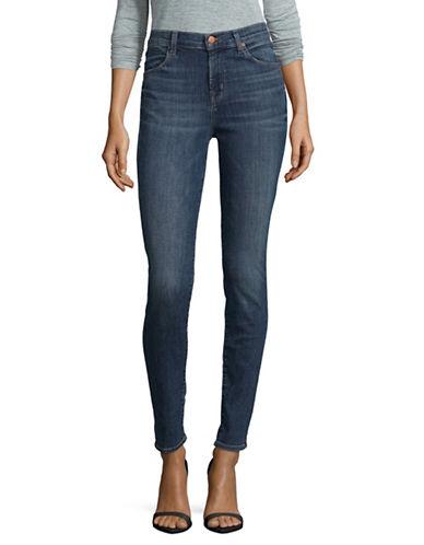 J Brand Maria High Rise Skinny Jeans-BLUE-29
