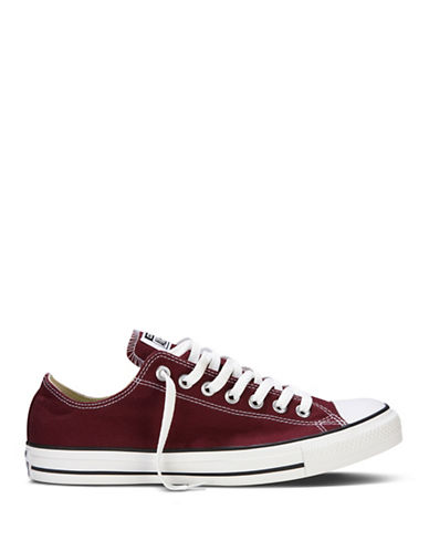Converse All Star Seasonal Oxford Sneakers-BURGUNDY-8