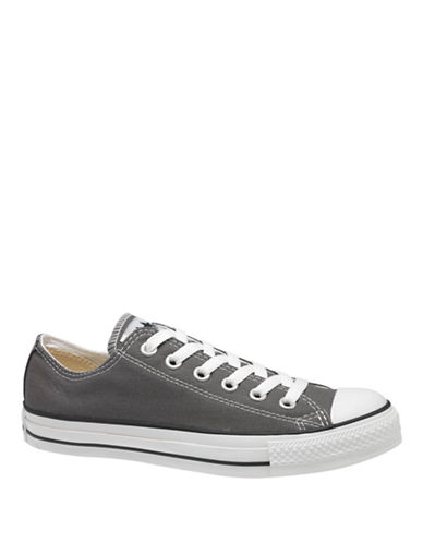 Converse Womens Chuck Taylor Core Ox-GREY-6.5