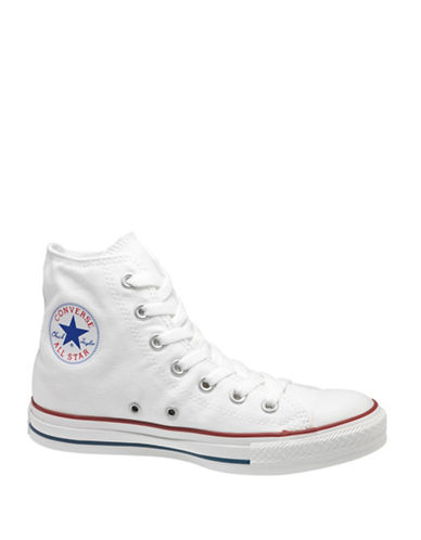 Converse Mens Chuck Taylor Canvas High-Top Sneakers-WHITE-7