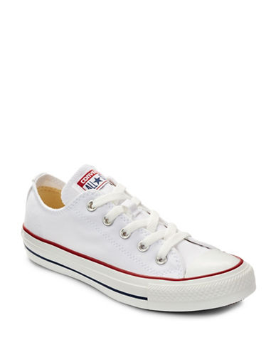 Converse Womens Chuck Taylor Core Ox Sneakers-WHITE-5.5