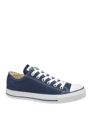 Converse Mens Chuck Taylor Canvas Sneakers-NAVY-10.5