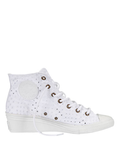 f86eaaa27f8b77 UPC 886954485625 product image for Converse Women s Chuck Taylor All Star Hi -Ness Eyelet Cutout