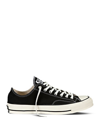 Converse CTAS 70s Canvas Ox Low Top Sneakers-BLACK-11.5