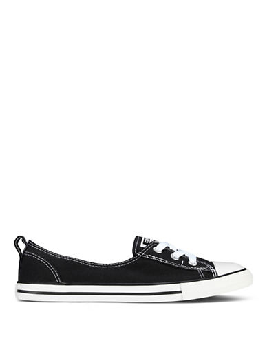 Converse Womens Chuck Taylor All Star Canvas Ballet Lace-BLACK-6