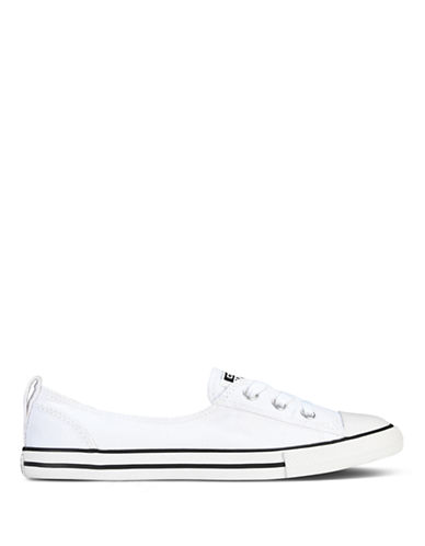 Converse Womens Chuck Taylor All Star Canvas Ballet Lace-WHITE-7.5