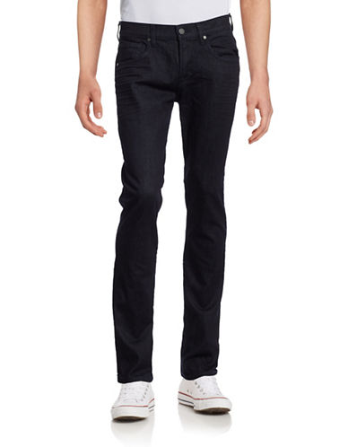 7 For All Mankind The Straight Jeans-BLUE-33X34