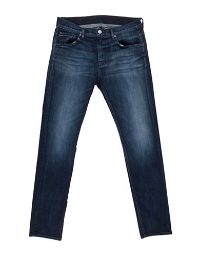 Image of 7 For All Mankind Alpha Slimmy Five-Pocket Jeans-ALPHA-29X34