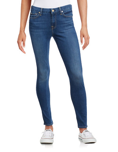 7 For All Mankind B-Air Skinny Jeans-BLUE-26