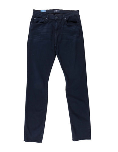 7 For All Mankind Luxe Sport Slimmy Jeans-BLUE-29