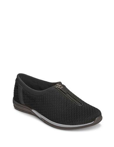 Aerosoles Traveler Round Toe Sneakers-BLACK-7.5