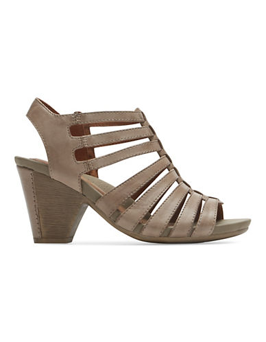 Rockport Cobb Hill Taylor Leather Sandals-KHAKI-7