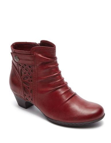 Rockport Cobb Hill Cobb Hill Abilene Booties-RED-8.5