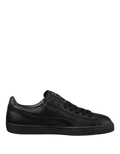 Puma Basket Classic LFS Sneakers-BLACK-8.5