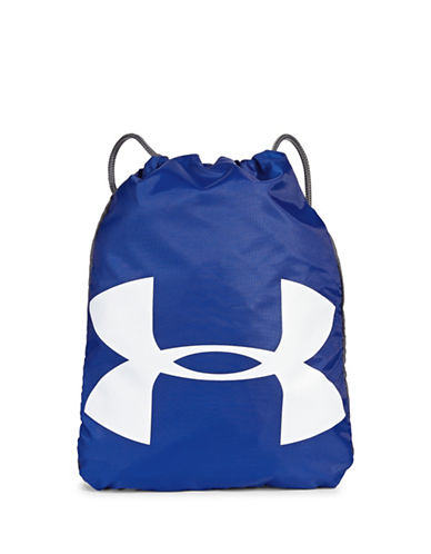 Under Armour Grab and Go Sackpack-ROYAL-One Size