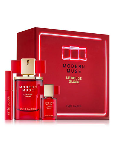 Estee Lauder Modern Muse Le Rouge Goss Three-Piece Limited Edition Set-NO COLOUR-One Size