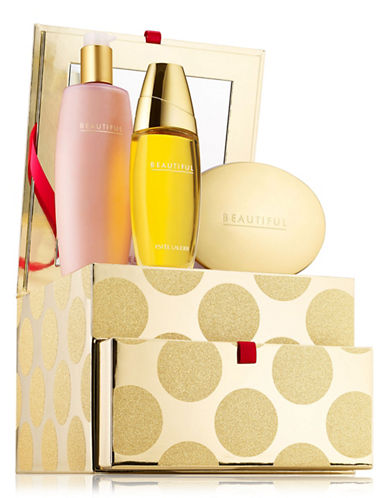Estee Lauder Beautiful Romantic Indulgences Limited Edition Three-Piece Set-NO COLOR-One Size
