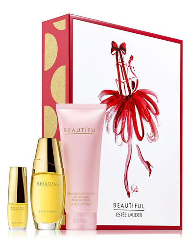 Estee Lauder Beautiful To Go Three-Piece Set-NO COLOR-One Size