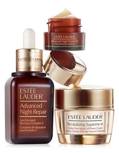 Estee Lauder Three-Piece Repair + Renew Set-NO COLOUR-One Size