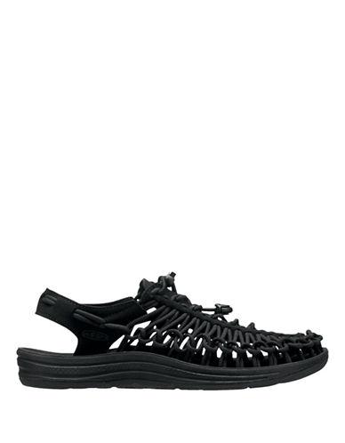 Keen Uneek Braided Outdoor Sandals-BLACK-11