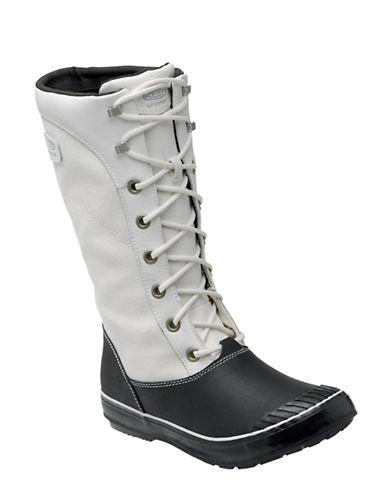 Keen Elsa Tall Boots-WHITE/BLACK-6