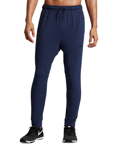Nike Dri-Fit Fleece Training Pants-BLUE-Medium 89407148_BLUE_Medium