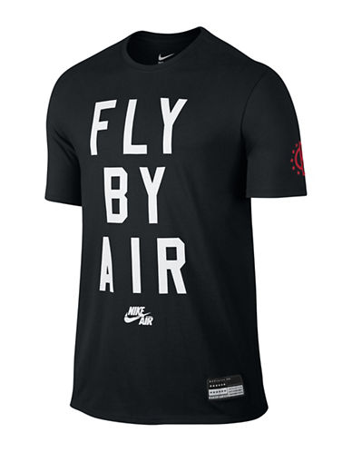 Nike Fly By Air T-Shirt-BLACK-XX-Large 88501751_BLACK_XX-Large