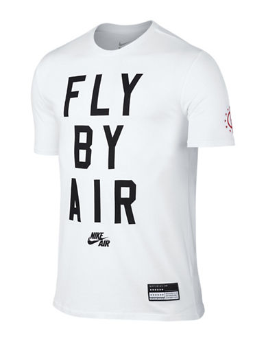 Nike Fly By Air T-Shirt-WHITE-Medium 88501753_WHITE_Medium