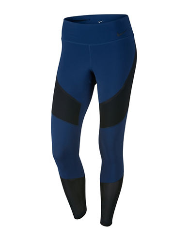 Nike Power Legendary Mid Right Tights-BLUE-X-Small 88958486_BLUE_X-Small