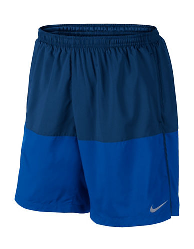 Nike Distance Running Shorts-BLUE-X-Large 88973686_BLUE_X-Large