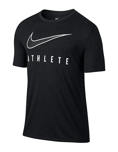 Nike Dry Athlete Training T-Shirt-BLACK-X-Large 88925654_BLACK_X-Large