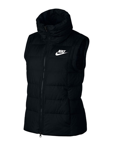 Nike Down Fill Vest-BLACK-Small